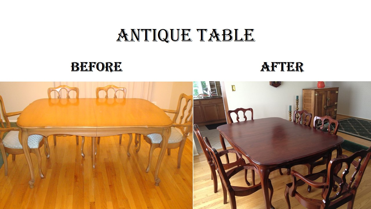 Antique Table B&A