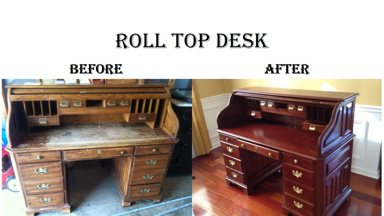 Roll Top Desk B&A