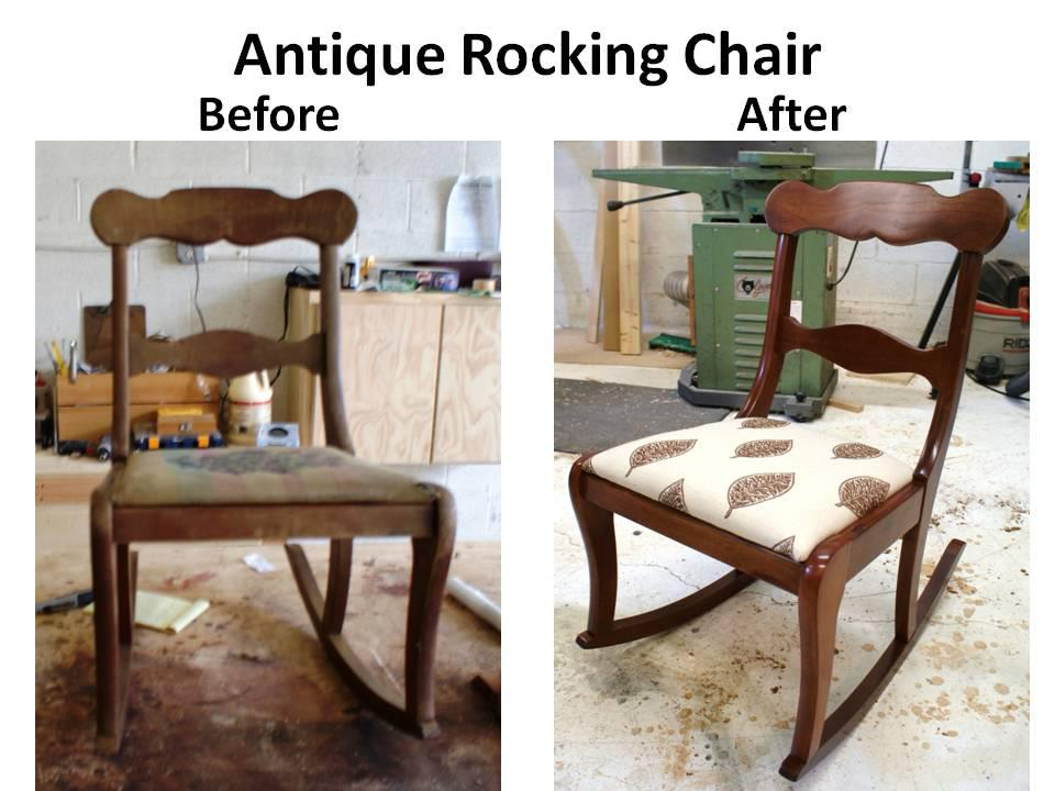 antique rocker b & a
