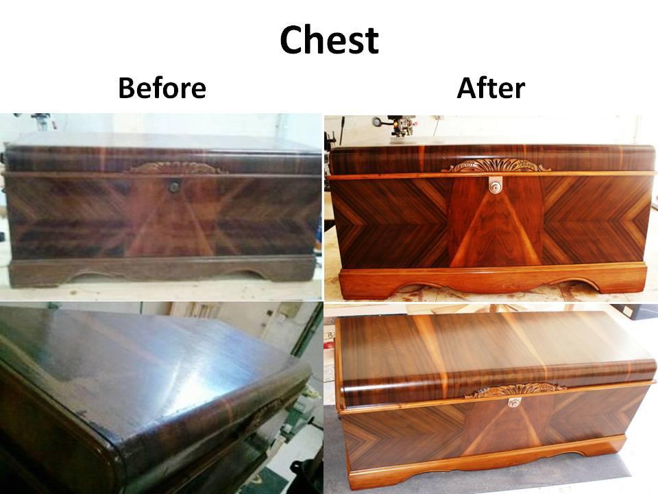 chest B&A