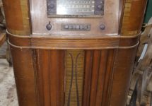 Radio Wine Cabinet Repurposing 15