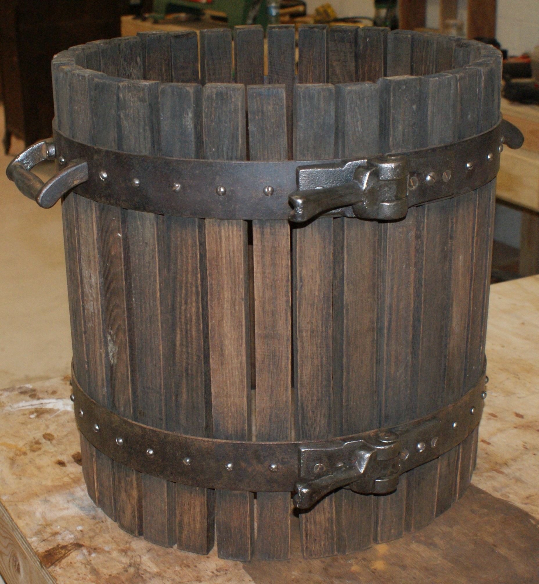 Wine Press Restoration 1